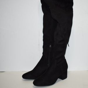 Steve Madden Over The Knee Boots Size 10